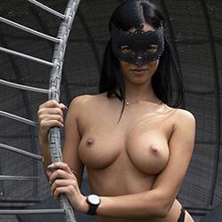 Meet Miu private model Escort Berlin for special oil massage with escort service 24h